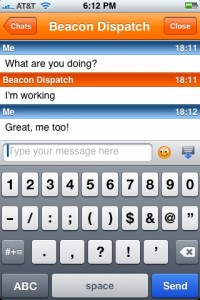 Nimbuzz offers voice and text chat for your iPhone and iPod Touch