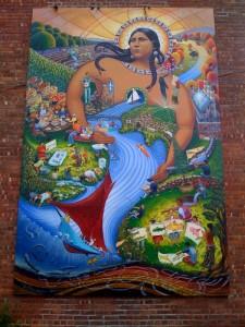 Rick Price's Hudson River Mural