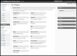 WordPress 2.8's new widget window